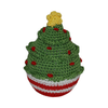 Pet Flys Knit Knacks Christmas Tree Toy