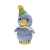 Pet Flys Knit Knacks Disco Duck Toy