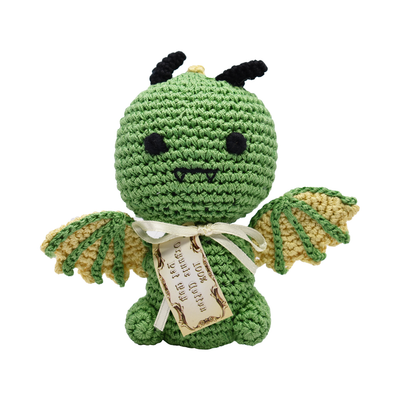 Pet Flys Knit Knacks Drogo The Dragon Toy