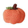 Pet Flys Knit Knacks Fall Pumpkin Toy