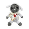 Pet Flys Knit Knacks Fleece The Lamb Toy