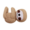 Pet Flys Knit Knacks Fraggles The Funny Baby Sloth Toy