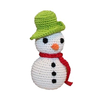 Pet Flys Knit Knacks Frost The Snowman Toy