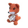 Pet Flys Knit Knacks Kit The Fox Toy