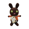 Pet Flys Knit Knacks Mock Choco Easter Bunny Toy