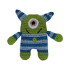 Pet Flys Knit Knacks Monster Toy
