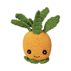 Pet Flys Knit Knacks Paulie The Pineapple Toy