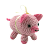 Pet Flys Knit Knacks Piggy Boo Toy