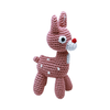 Pet Flys Knit Knacks Rudy The Reindeer Toy