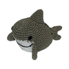 Pet Flys Knit Knacks Shark Toy