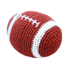 Pet Flys Knit Knacks Snap The Football Toy