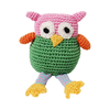 Pet Flys Knit Knacks Wise Guy Owl Toy