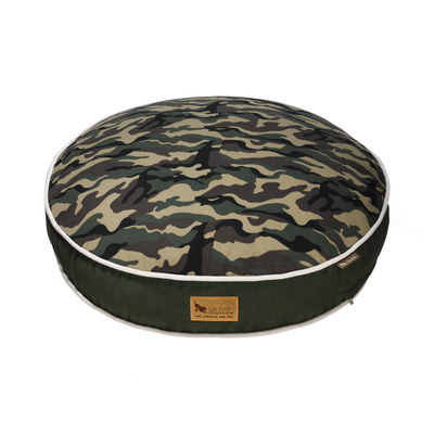 P.L.A.Y. Camouflage Round Bed