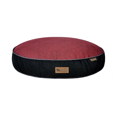 P.L.A.Y. Houndstooth Round Bed