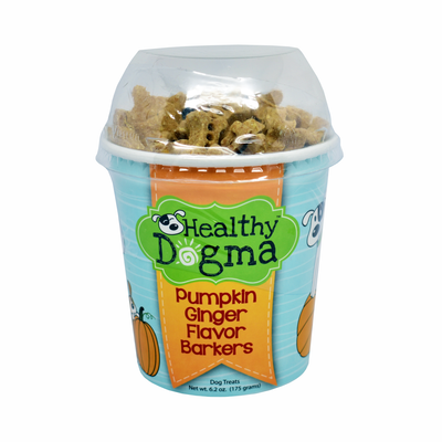 Healthy Dogma Pumpkin Ginger Mini Barkers Treats