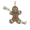 Simply Fido Gingerbread Man Toy