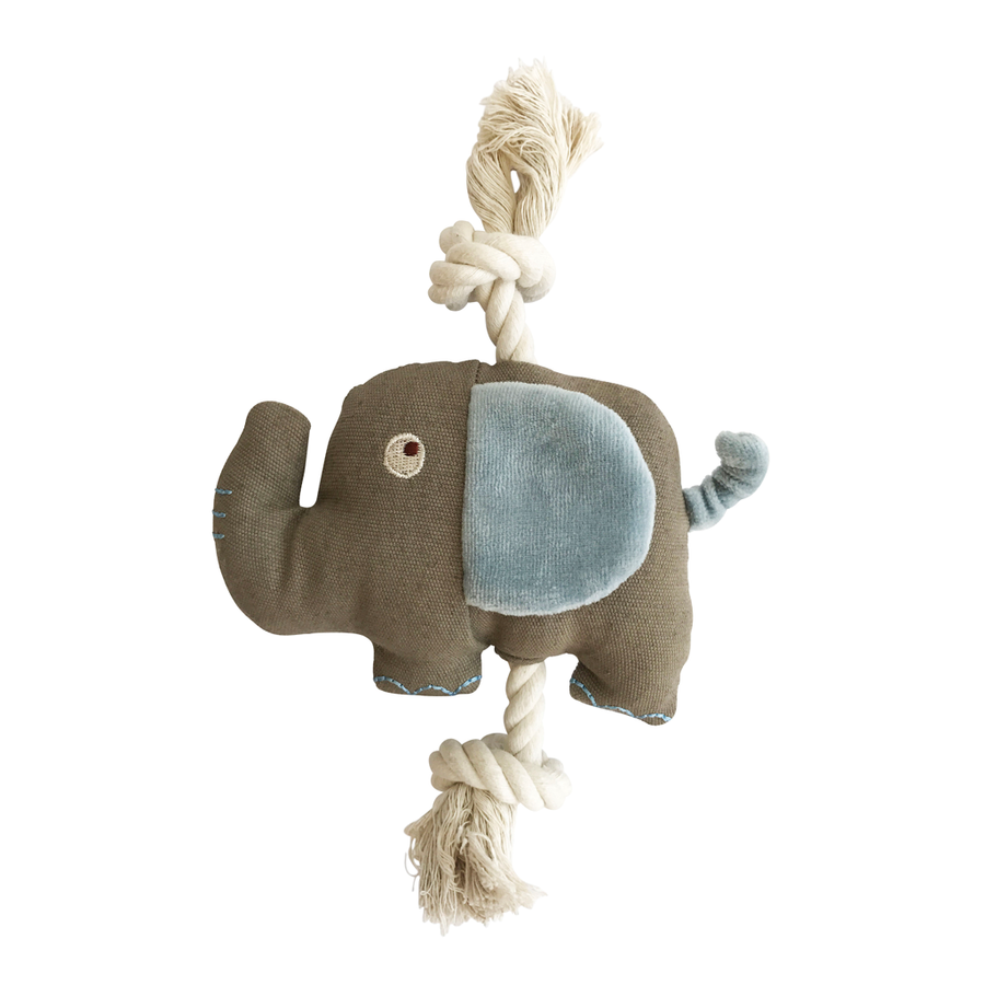 167087107e Simply Fido Little Ellie Elephant Toy