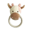 Simply Fido Millie Cow Rope Toy