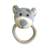 Simply Fido Wally Bear Rope Toy