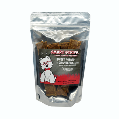Einstein Pets Smart Strips Sweet Potato & Cranberry Treats