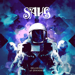 SAHG - Delusions Of Grandeur (LP White Vinyl w/ Blue Spots)