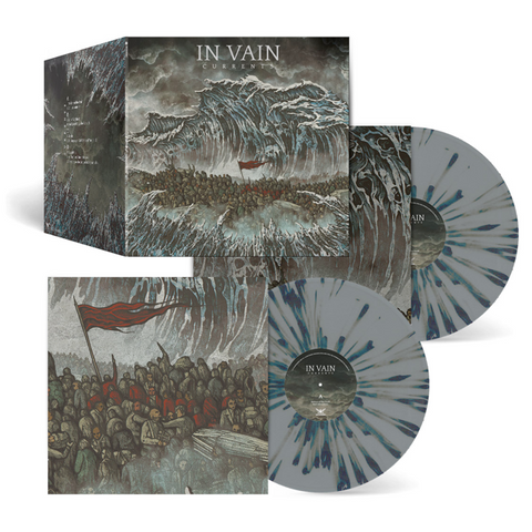 IN VAIN - Currents (Ltd. Edition 2LP Grey with speckles with poster and bonus tracks)