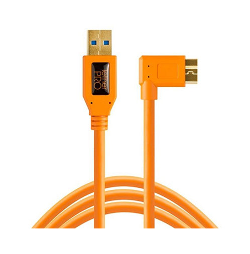 Tether Tools TetherPro USB 3.0 to Micro-B Right Angle Cable (15')