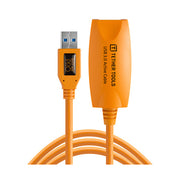 Tether Tools 16' TetherPro USB 3.0 Active Extension Cable (Hi-Visibility Orange)