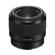 Sony FE 50mm f/1.8 Lens (Receive 15% Sony Cashback)