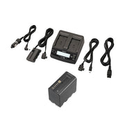 Sony Dual Charger, AC Adaptor and NP-F970 Battery Kit