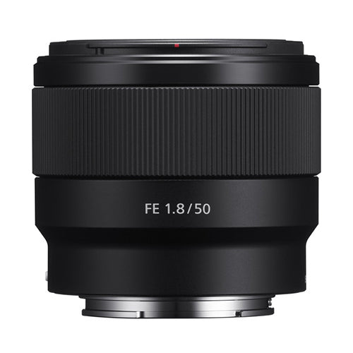 Sony FE 50mm f/1.8 Lens (With 10% Sony Cash Back)
