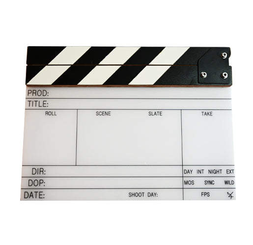 Clapper Board & Sticks (30x22cm) XLGG