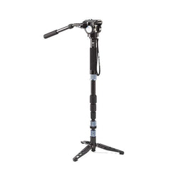 Sirui P-204SR+VA-5 Aluminum Video Monopod and Head