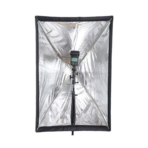 Phottix Easy-up HD Umbrella Softbox 60x90cm with Grid + Varos S Adapter_Durban