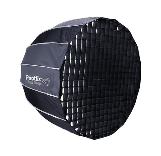 Phottix Raja Deep Quick-Folding Octa Softbox 80cm_Durban