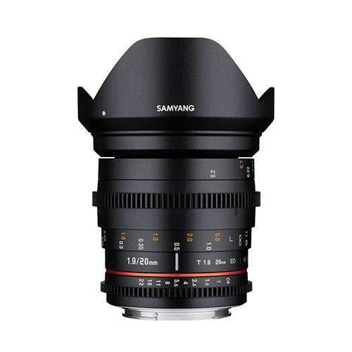 Samyang 20mm T1.9 ED AS IF UMC Cine Lens (Canon)_Durban