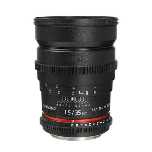 Samyang 35mm T1.5 AS UMC II Cine Lens (Full Frame Canon EF-Mount)_Durban