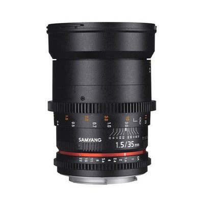 Samyang 35mm T1.5 VDSLR II Cine Lens for Sony E-Mount_Durban