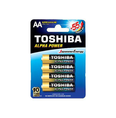 Toshiba Alpha Power Alkaline - AA 2/4/6