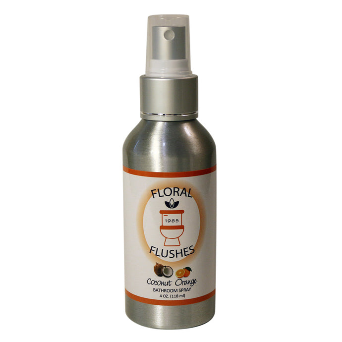 Floral Flushes Coconut Orange Toilet Spray (4oz)