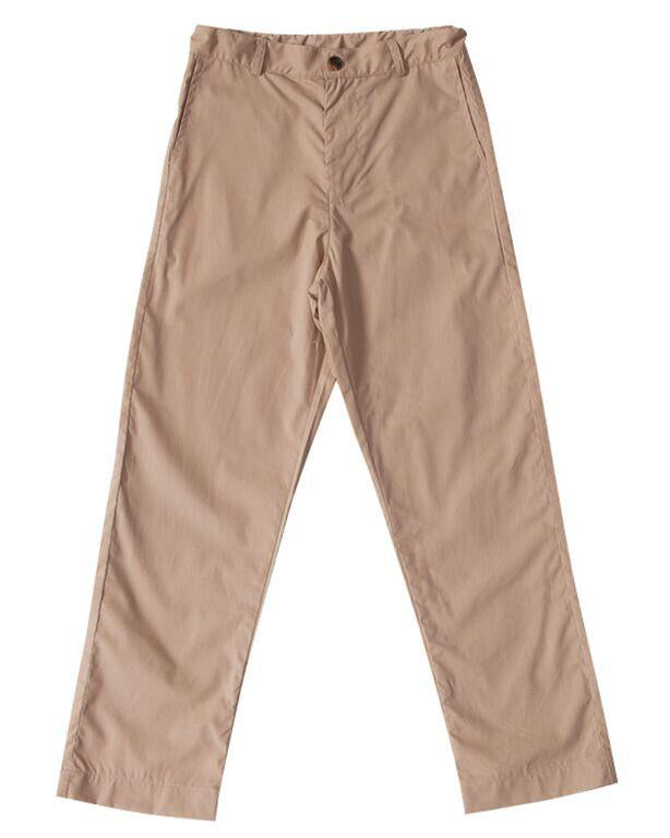 Busy Bee Kids Alex Flat Front Pant - Khaki