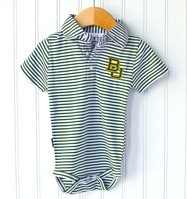 Baylor Onesie Boys - Six Honeybees,  - Classic Children's Clothing,