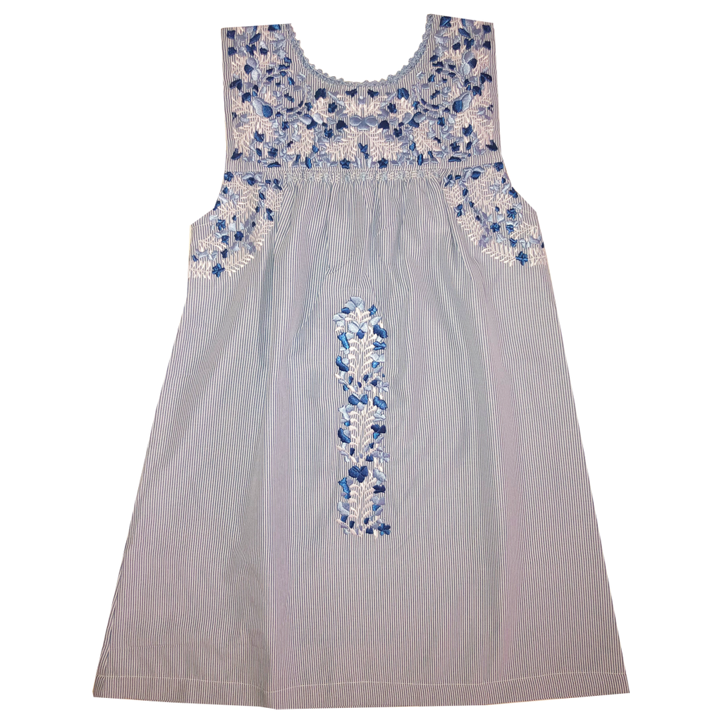 Bluebonnet Hill Sleeveless Puebla Dress