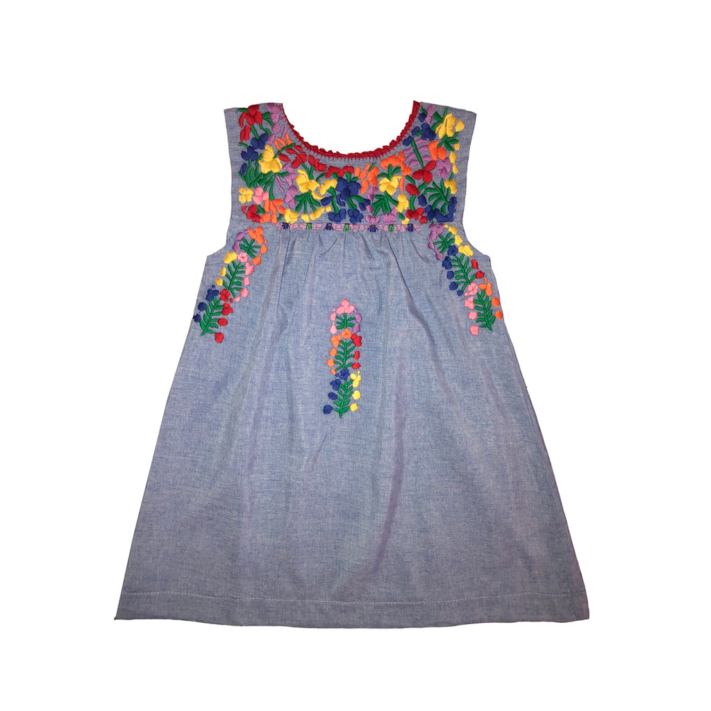Alamo Sleeveless Puebla Dress