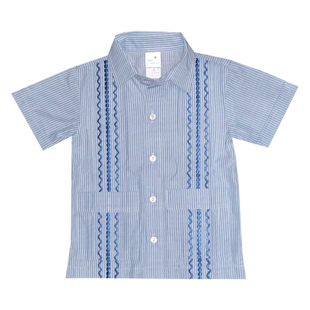 San Jose Boy's Guayabera Shirt