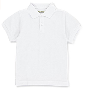 White Short Sleeve Polo - Six Honeybees,  - Classic Children's Clothing,