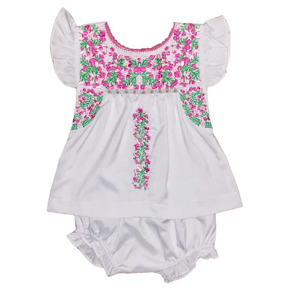 Magnolia Puebla Bloomer Set