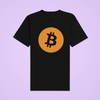 Big Bitcoin BTC Logo Crypto Currency | Unisex T-Shirt