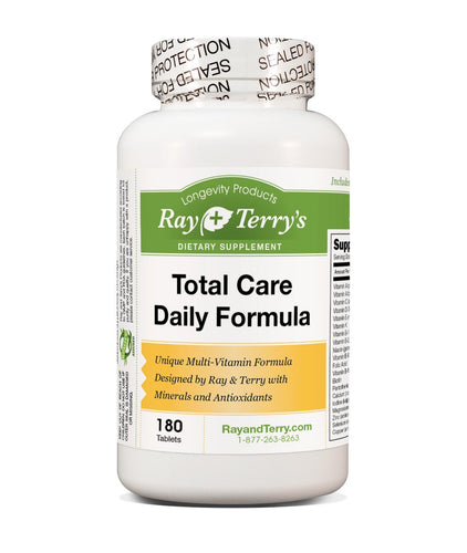 Total Care Daily Formula, Ray & Terry's Optimal Multi-Vitamin with Antioxidants and Anti-Aging Ingredients