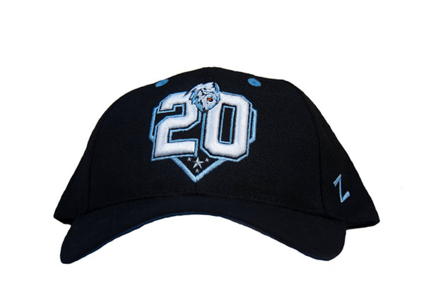 20th Black and Blue Hat